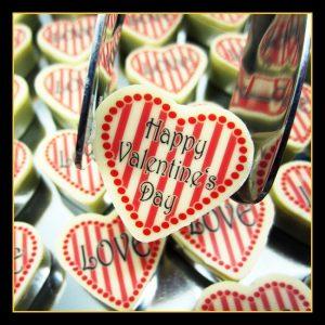 Motiv Praline Valentin